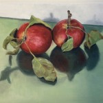 sterappeltjes, oil on panel